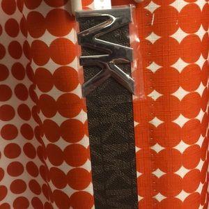 NWT Michael Kors brown belt